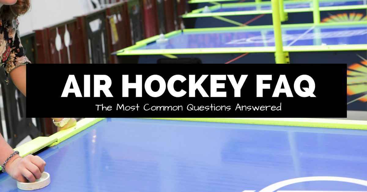 air hockey faq image with woman playing