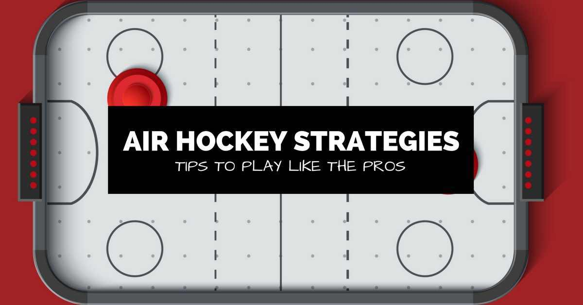 air hockey tips and strategies banner image