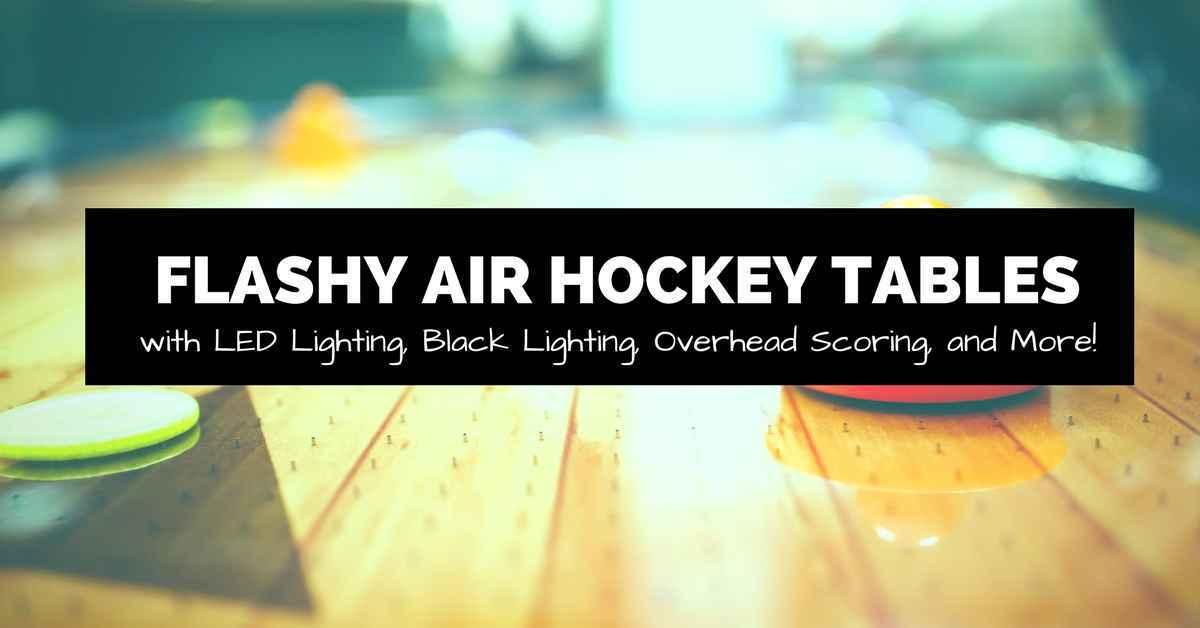 flashy air hockey table banner image