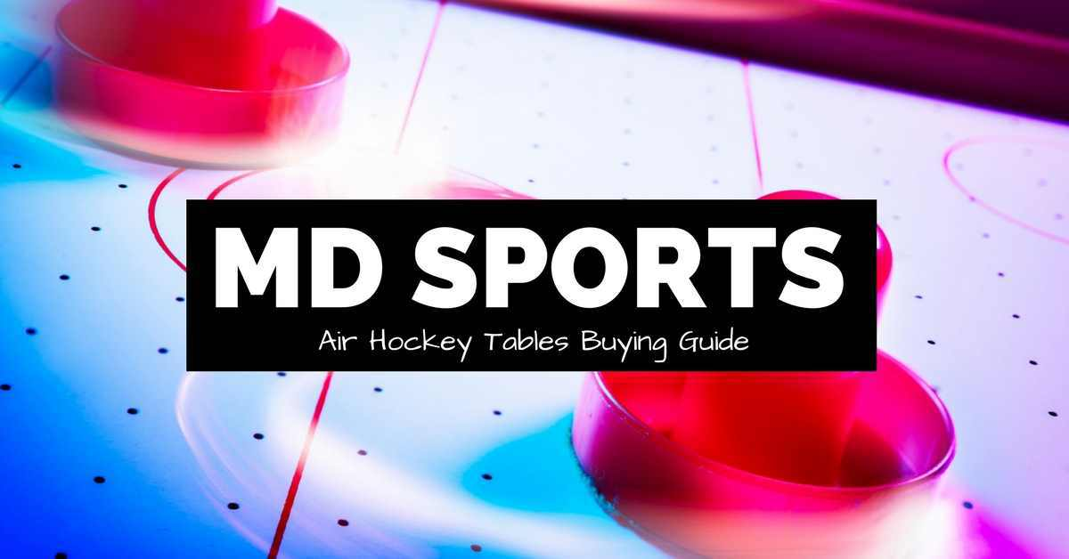 md sports air hockey table buying guide cover