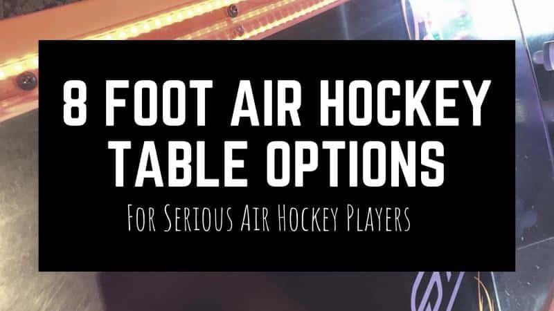 8 foot air hockey table