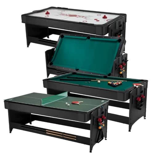 GLD Products Fat Cat Pockey 3 in 1 44 Multi Game Table