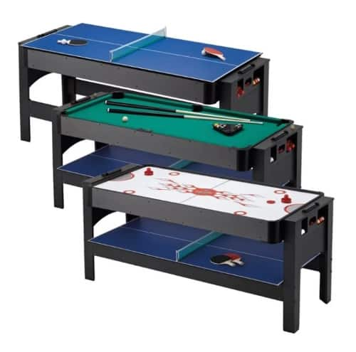 GLD Products Fat Cat Triple Threat 3 in 1 32 Multi Game Table