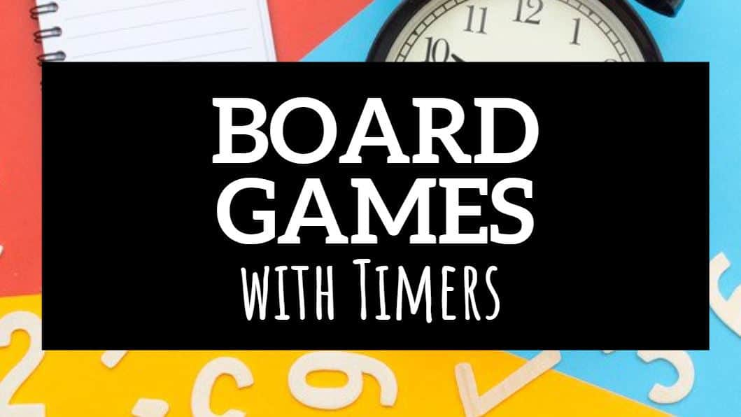 board games with timers