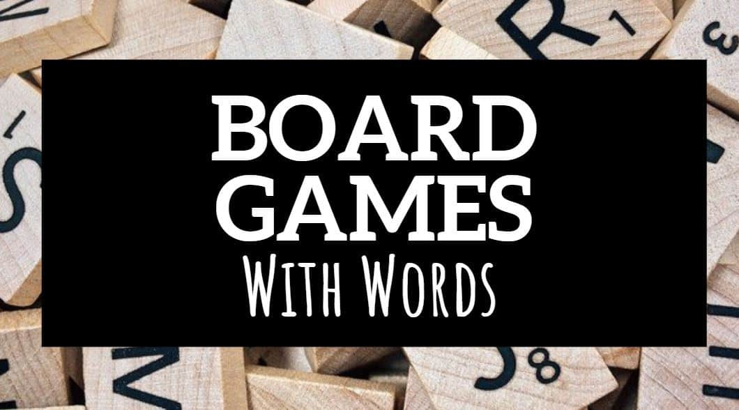 board games with words