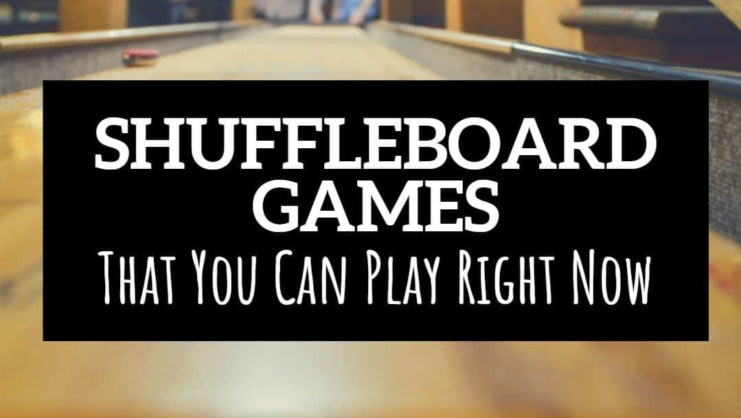 shuffleboard games you can play right now