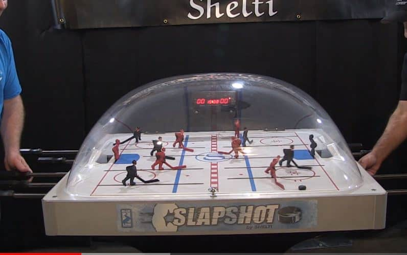 bubble hockey shelti