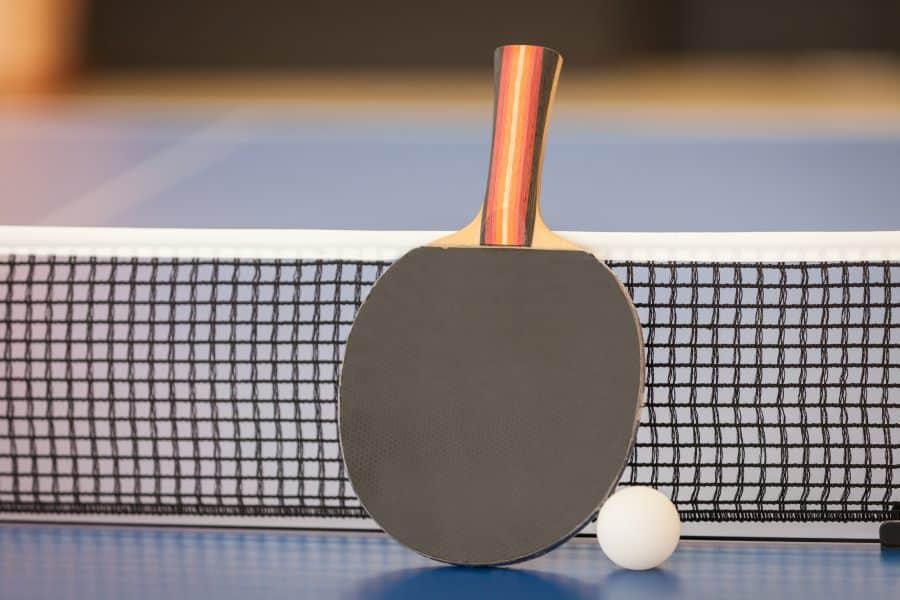 regulation ping pong net height