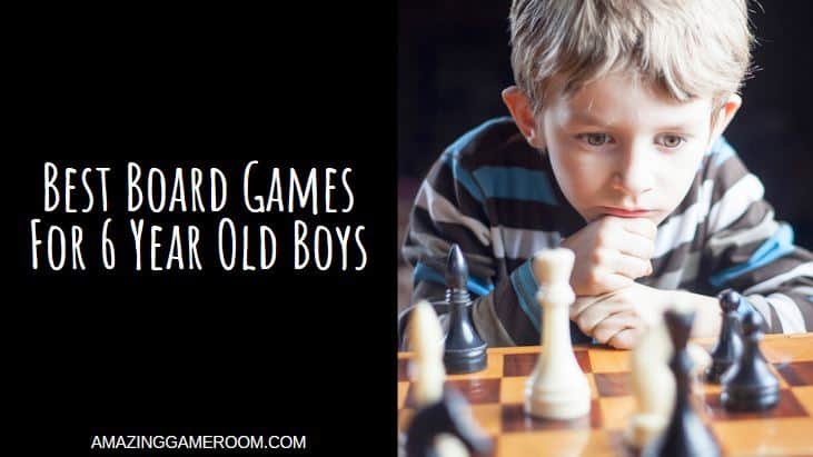 Best Board Games For 6 Year Old Boys