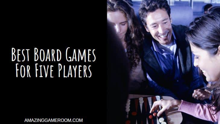 Best Board Games For Five Players