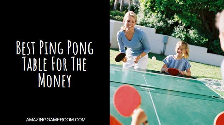 Best Ping Pong Table For The Money