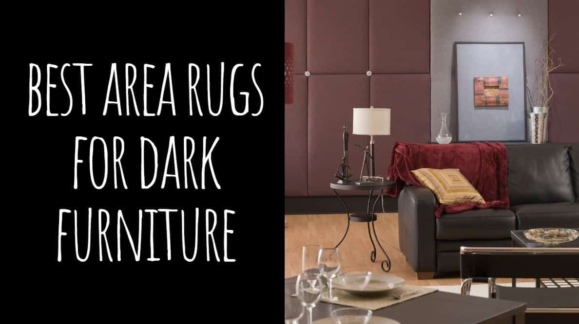 Best Area Rugs for Dark Furniture