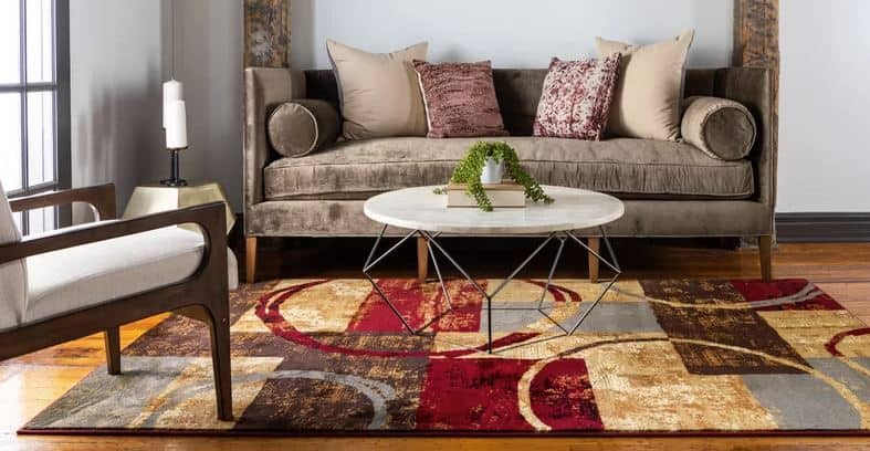 Jaidan Abstract Area Rug
