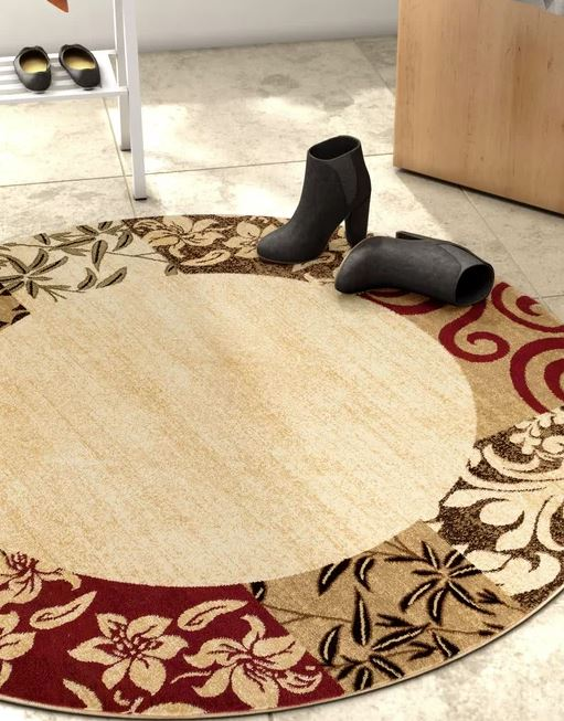Janell Floral Area Rug