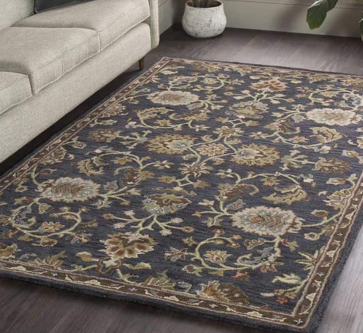 Oriental Handmade Tufted Wool Area Rug