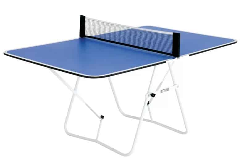 Butterfly Family Mini Foldable Table Tennis Table