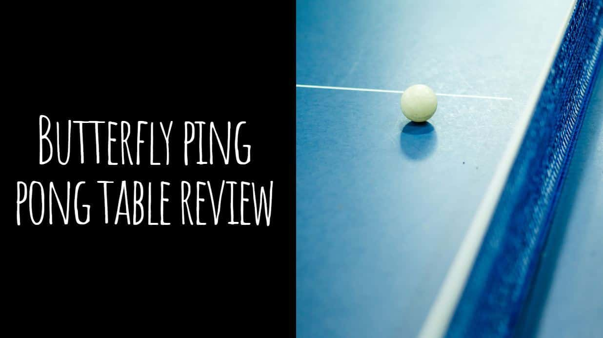 Butterfly Ping Pong Table Review