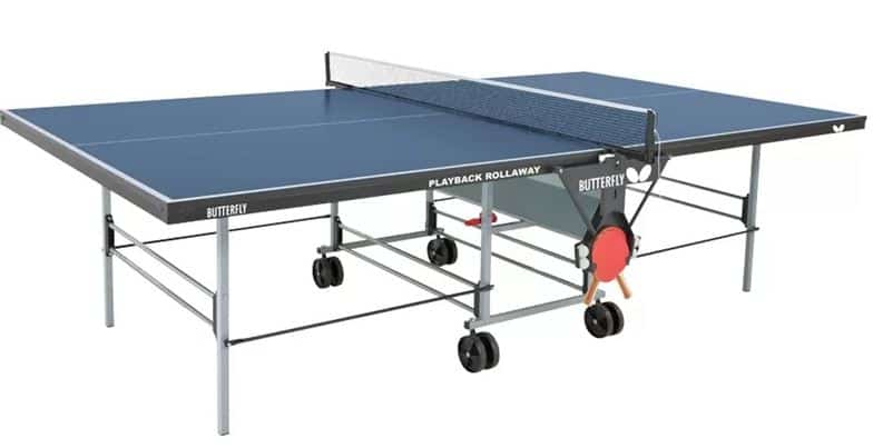 Butterfly Playback Rollaway REgulation Size Table