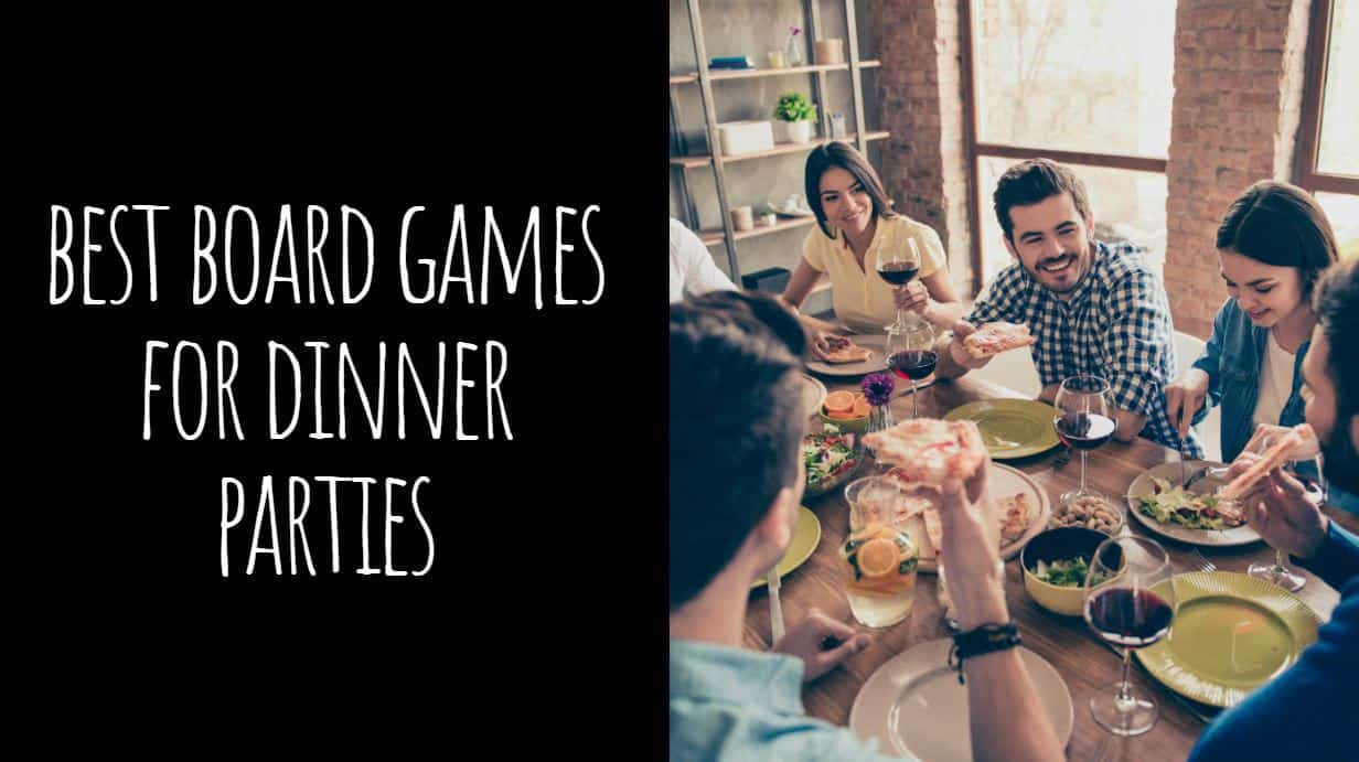 Best Board Games for Dinner Parties