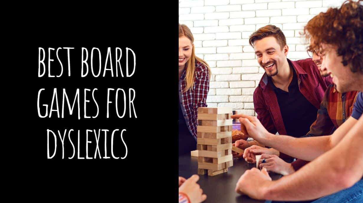 Best Board Games for Dyslexics