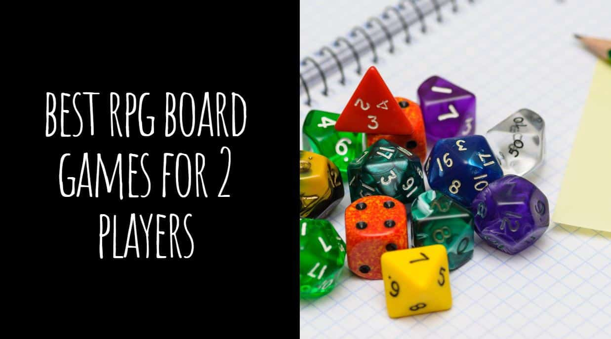 Best RPG Board Games for 2 Players